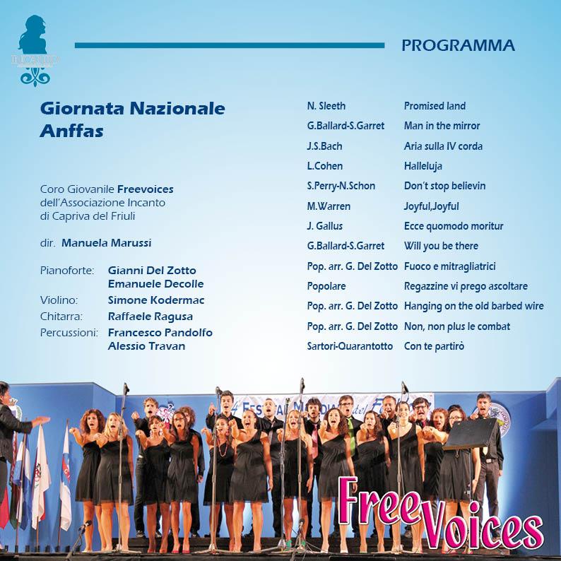 Concerto per la Giornata Nazionale dell'ANFFAS